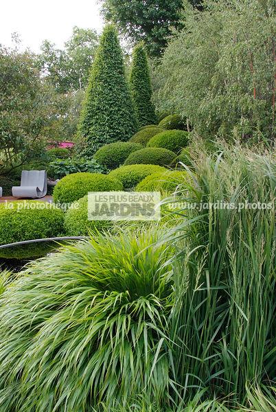 La phototh que les plus beaux jardins jardin de - Jardin de graminees photos ...