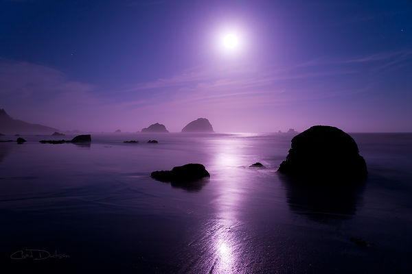Moonlight reflection