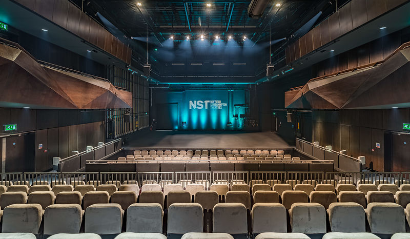 Interior views of the NTS - Nuffield Theatres Southampton, UK