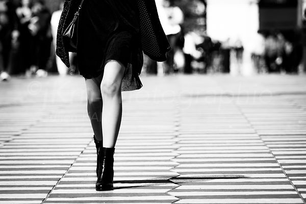Street Photo - Jeu de Dames
