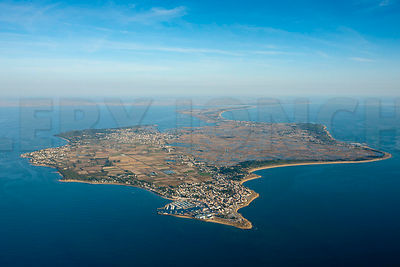 photo aerienne de l'ile de Noirmoutier