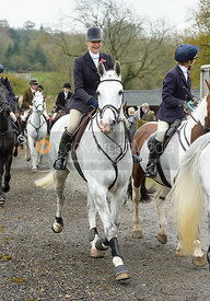 Zoe Mossman at the meet at Oak House