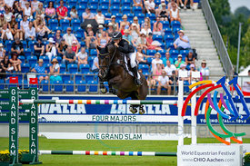 21/07/18, Aachen, Germany, Sport, Equestrian sport CHIO Aachen 2018 - U25 Springpokal,  Image shows Stefanie Bolte. Copyright...