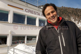 Arun Nayar Cresta Run Saint Moritz Photo