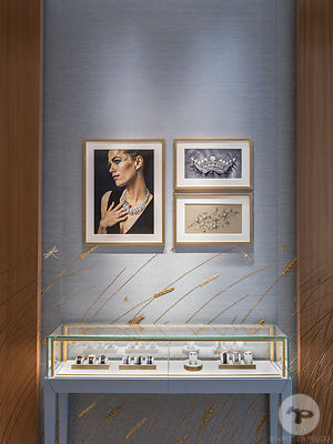 Chaumet store, Calle Ortega y Gasset, Madrid, Spain. Photo ©Kristen Pelou