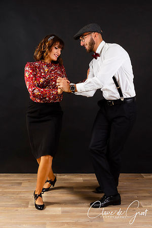 Rock n Roll Dancing Studio Sports Portrait