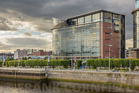SCOTLAND - GLASGOW, JULY 21, 2017:  Modern office building at 200 Brommielaw in Glasgow.  This is withing the Glasgow Interna...
