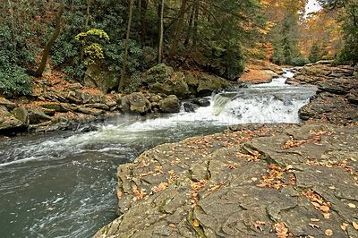 Meadow Run Falls 2, Ohiopyle PA