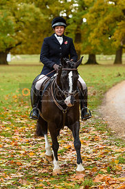Anna Lane at Fitzwilliam Hunt Opening Meet 2018.