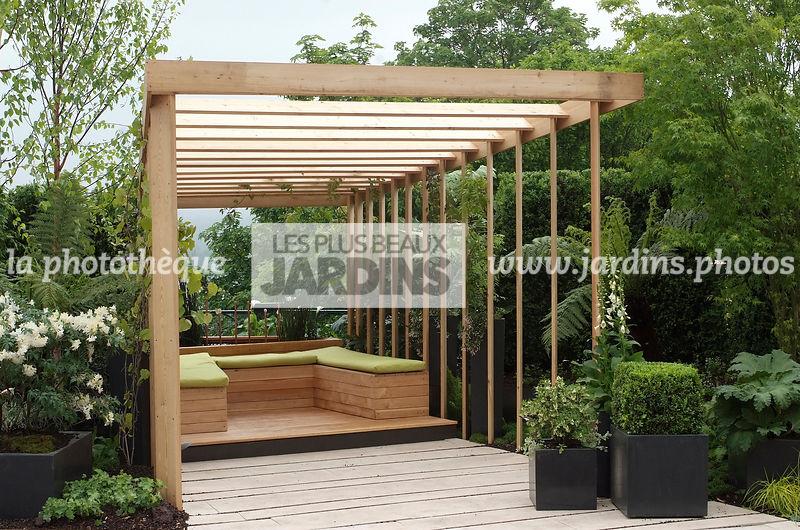 La Photothèque Les Plus Beaux Jardins Terrasse Contemporaine
