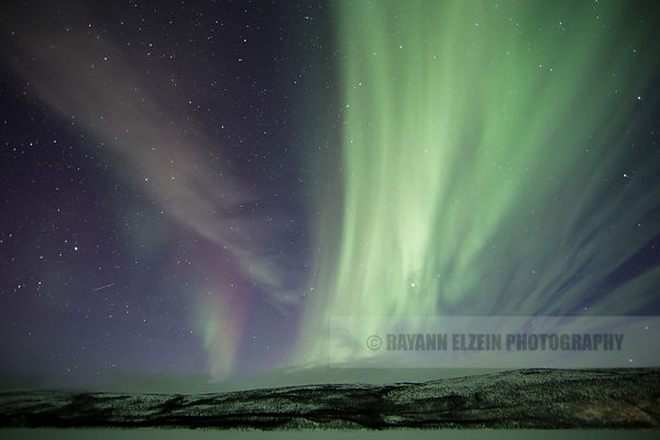 Aurora above the Teno River