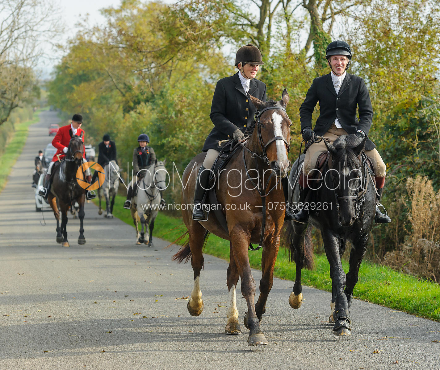 on Cold Overton Road - The Cottesmore at Langham.