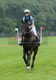 Jonelle Price and THE DEPUTY - cross country phase,  Land Rover Burghley Horse Trials, 6th September 2014.