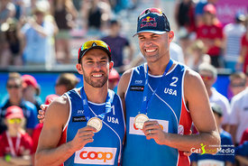 2nd: Lucena - Dalhausser (USA)