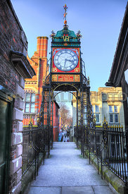 The Eastgate Clock Tower, Chester