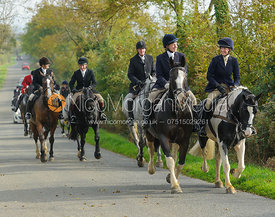 Sophie Brown on Cold Overton Road - The Cottesmore at Langham.