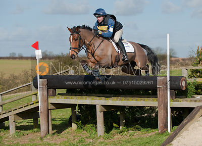 Ben Hobday and Rocksoxs, Oasby Horse Trials 2011