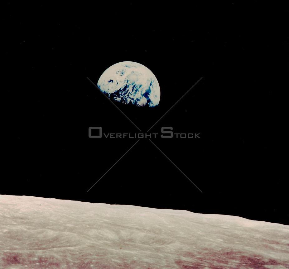 OverflightStock | EARTH The Moon -- 1969 -- Earth rises