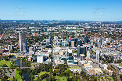 Parramatta Looking East to Sydney