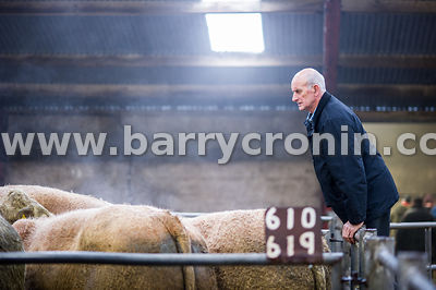 27th October, 2015.Eric Moffett from Ballybay, County Monaghan pictured at Ballyjamesduff Mart, County Cavan. Photo:Barry Cro...