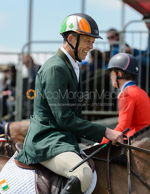 Jonty Evans (COOLEY RORKES DRIFT) - Showjumping - Mitsubishi Motors Badminton Horse Trials 2017