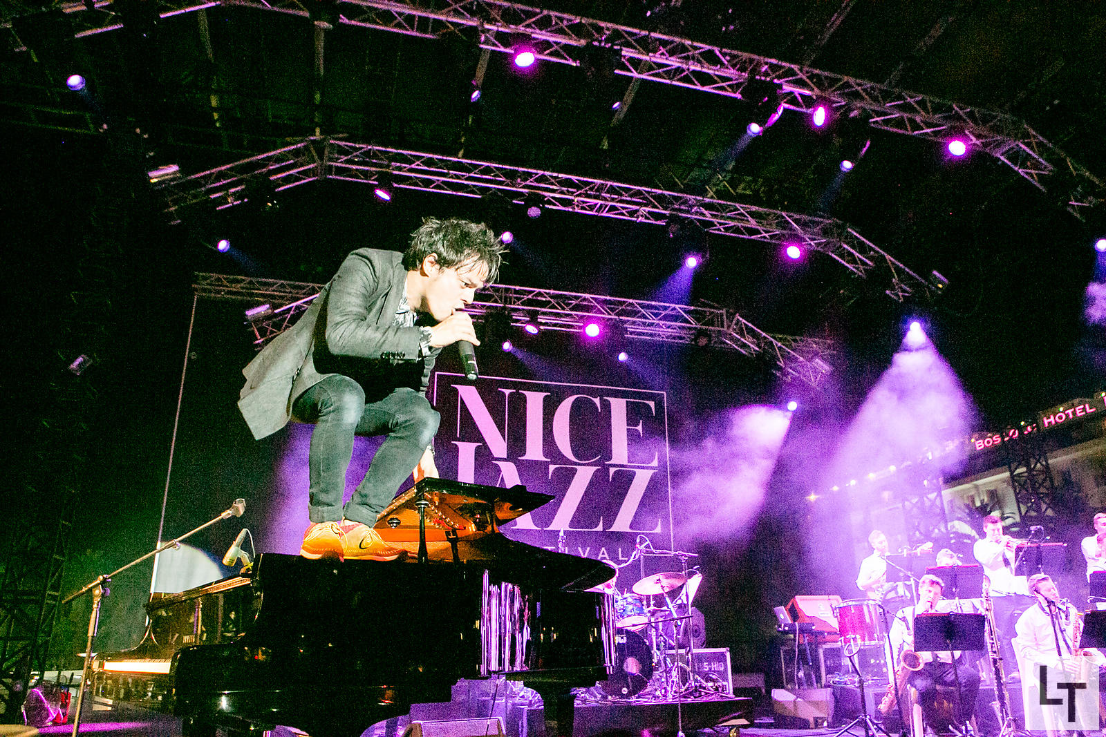Jamie Cullum, 2015 Nice Jazz Festival godfather