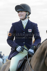 Gaby Vaughan - The Cottesmore Hunt at Burrough House 17/12