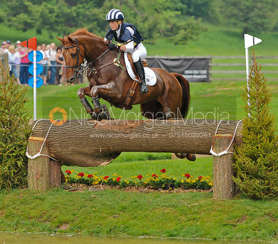MAC MACDONALD and Caroline Powell, Bramham Horse Trials 2010