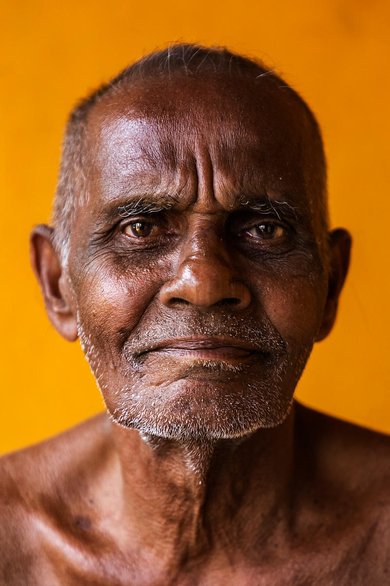 Portrait of a Fisherman on his Stoep