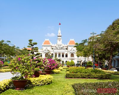 People's Committee Building (former hotel de Ville), Saigon