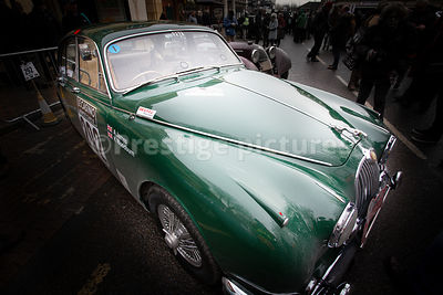 JAGUAR, Mk2 3.8 in Banbury at the UK leg of the Monte Carlo Historique Rally - 2019