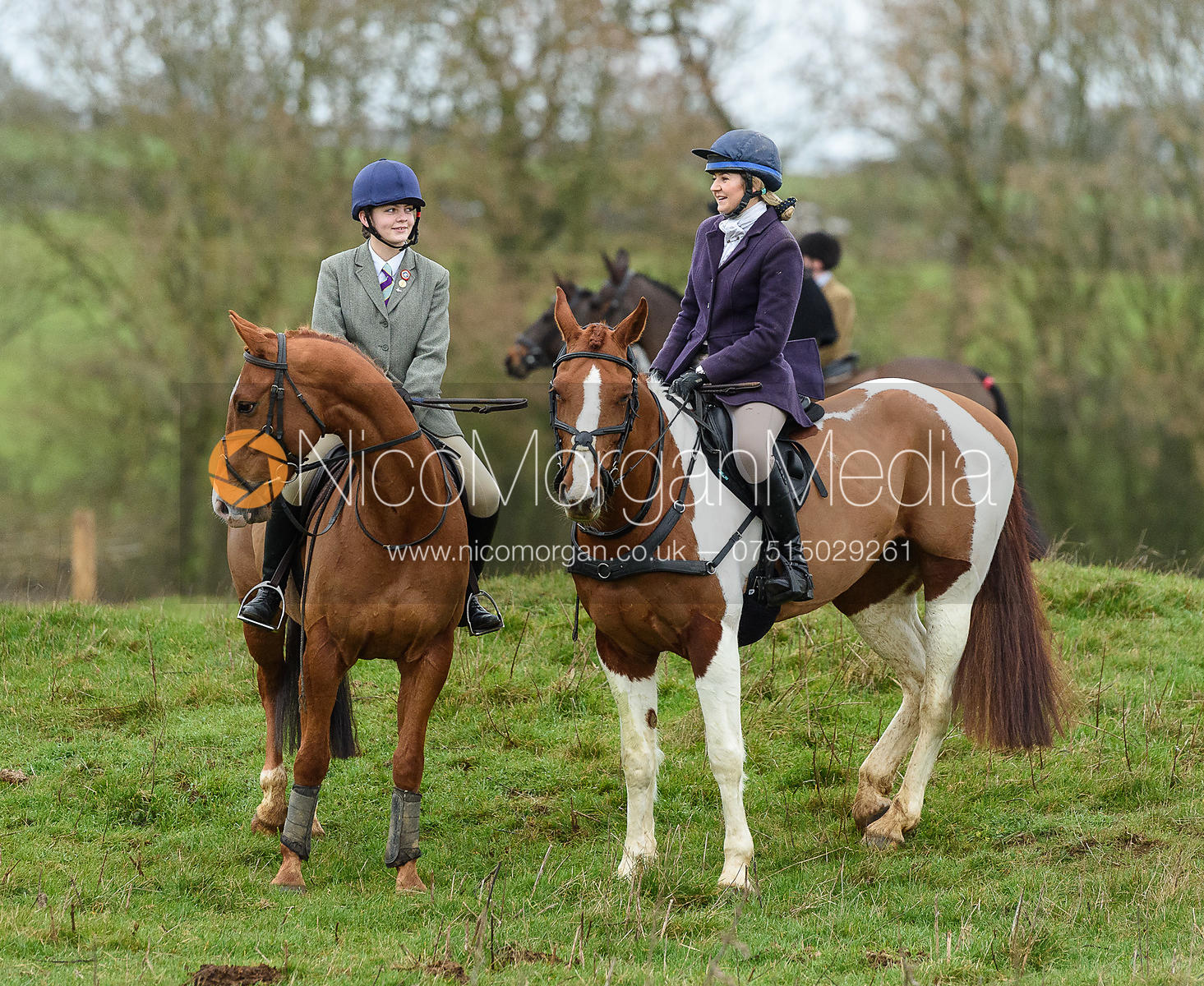 Lizzie Westropp, Amber Hoskins at Goadby Marwood 11/1