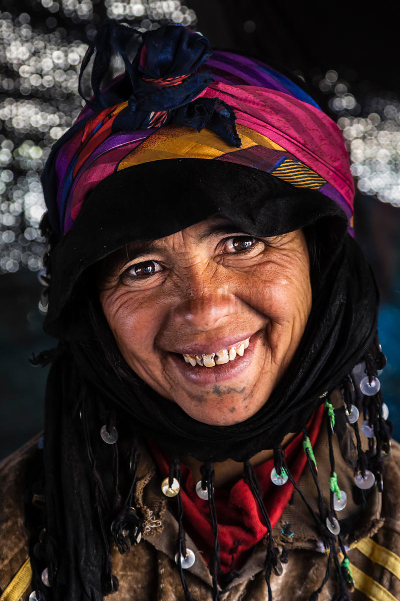 Portrait of a Nomadic Woman