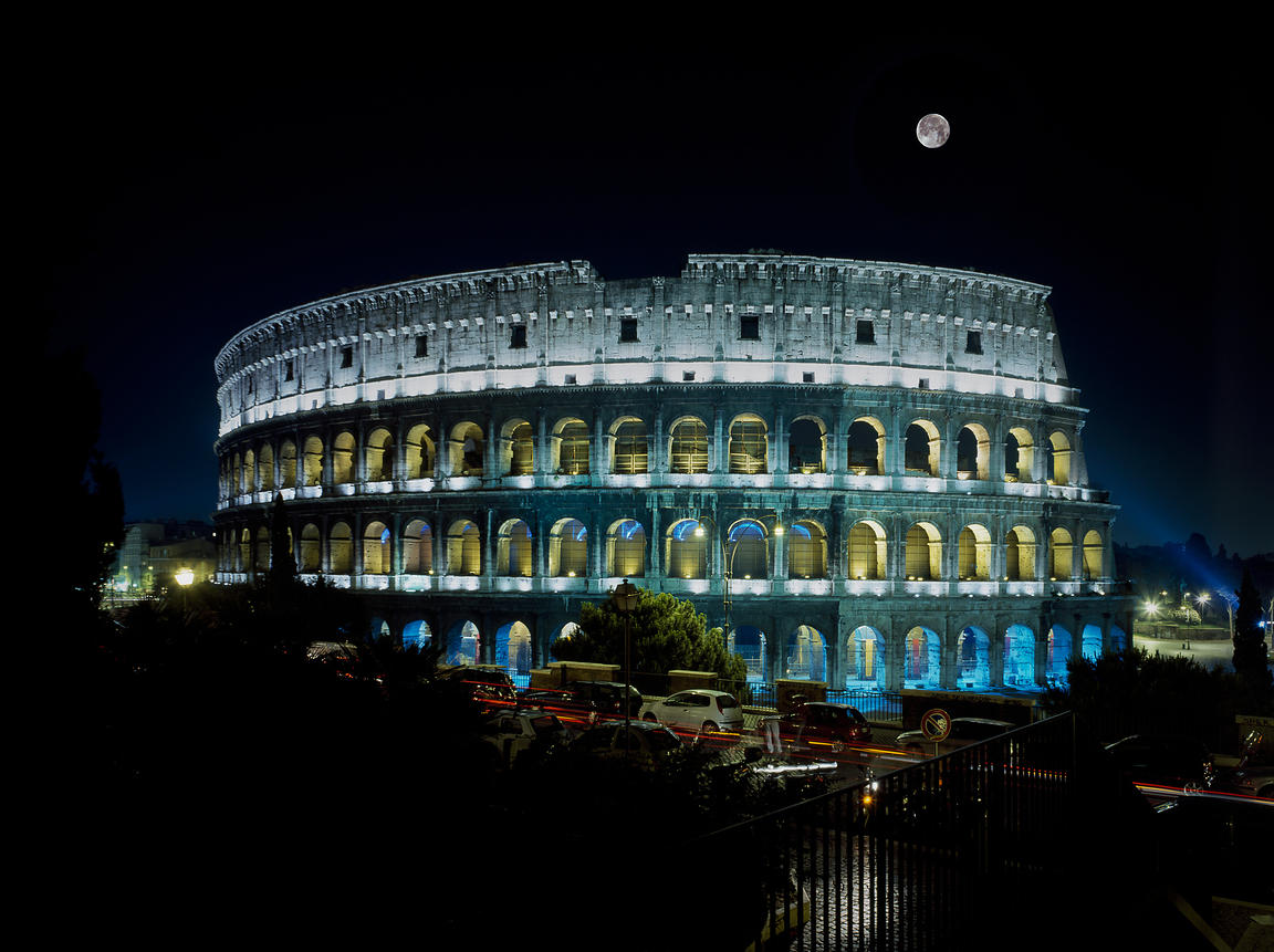 Colosseum, Rome, Italy.