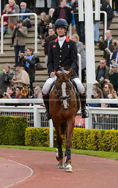 William Fox-Pitt and CHILLI MORNING - Champions Willberry Charity Flat Race - Cheltenham Racecourse, April 20th 2017