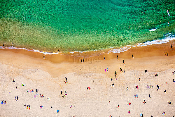 Bondi Beach Abstract