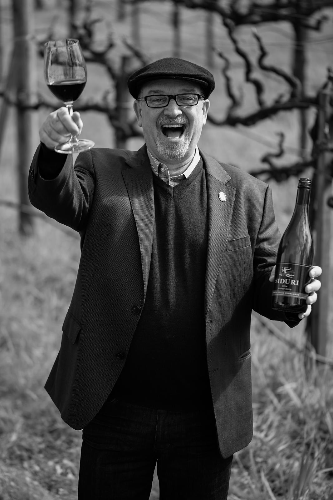 Portrait of Master Sommelier Michael Jordan of Jackson Family Wines by Jason Tinacci