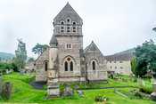 St. Michael Church Tower (Horizontal)- Monkton Combe, England