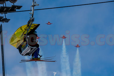 Ski WM 2017 - Air Show Swiss & Patrouille Suisse