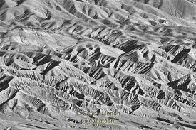 Hills Pattern, Death Valley National Park, California, USA
