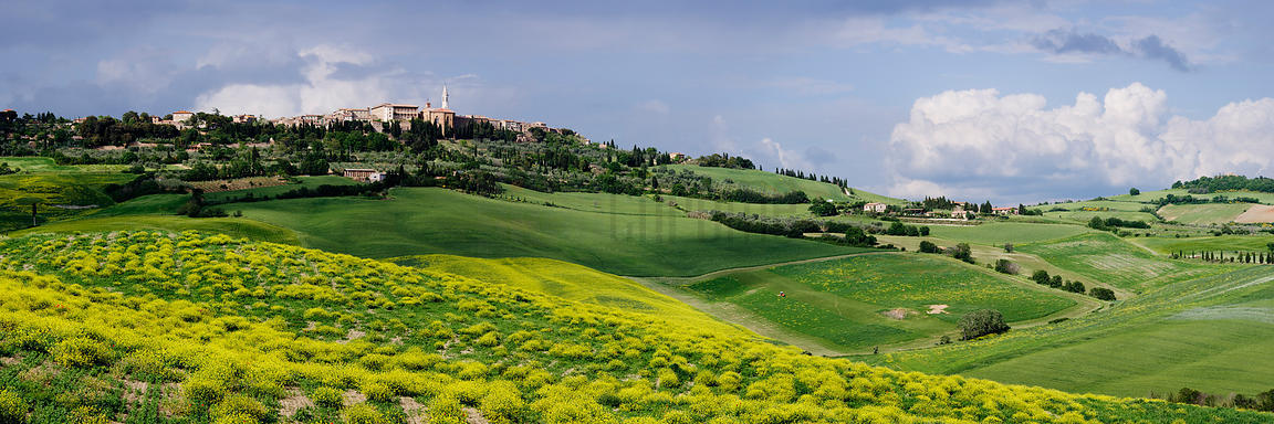 Tuscan Hill Town of Pienza