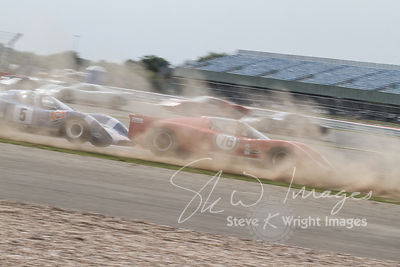 Chevron B16 (1.8-litre Ford Cosworth straight-four, 1970) - Silverstone Classic 2013
