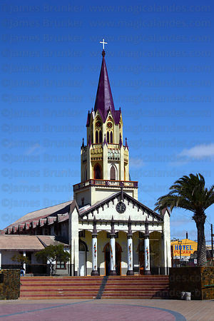 Church of San Vicente de Paul de Caldera , Plaza de Armas , Caldera , Region III , Chile