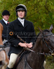 Rory Bevin near Gartree Covert - Quorn Hunt Opening Meet 2016