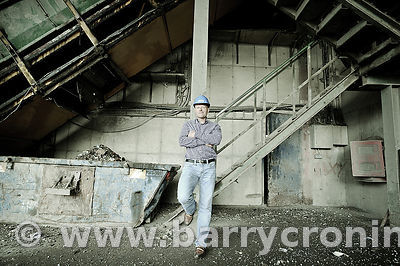25th August, 2011. Panda Waste Recycling facility at Rathdrinagh, Beauparc Business Park, Slane, Co Meath. Founder, CEO and o...