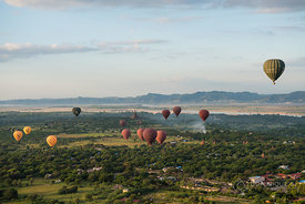 Balloon Ride over ancient Bagan