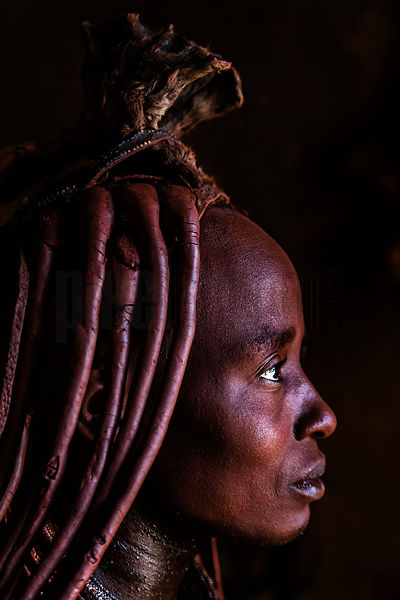 Portrait of a Himba Woman