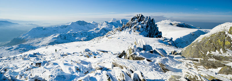 Panoramic view of Glyder Fach, Snowdonia - BP2791B