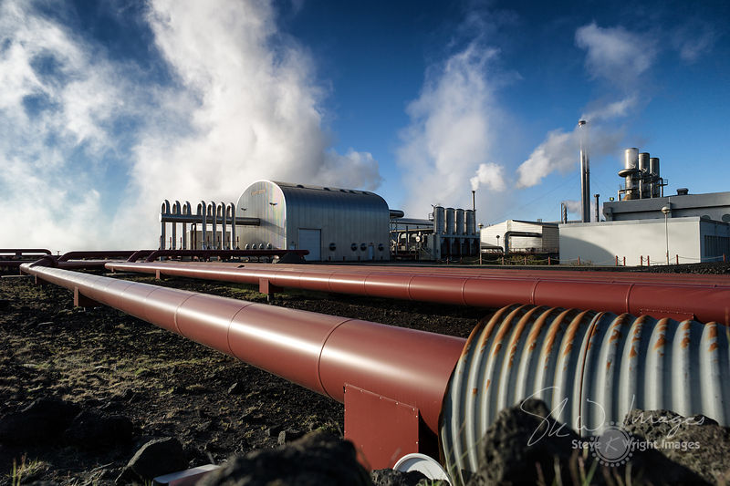 Svartsengi Geothermal Power Station - Reykjanes Peninsula, Iceland