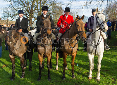 The Bevin Family - The Cottesmore Hunt Boxing Day Meet, Cutts Close, Oakham 26/12